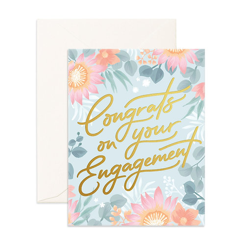 Congrats Engagement Greeting Card