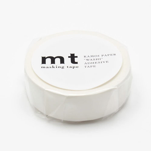 MT Washi Tape - Matte White