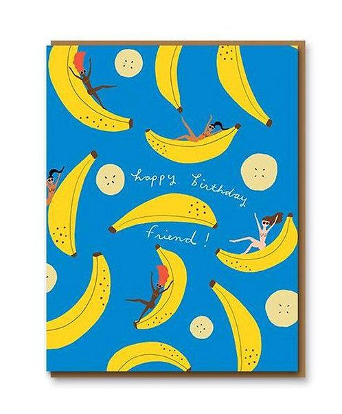 Banana Party Greeting Card