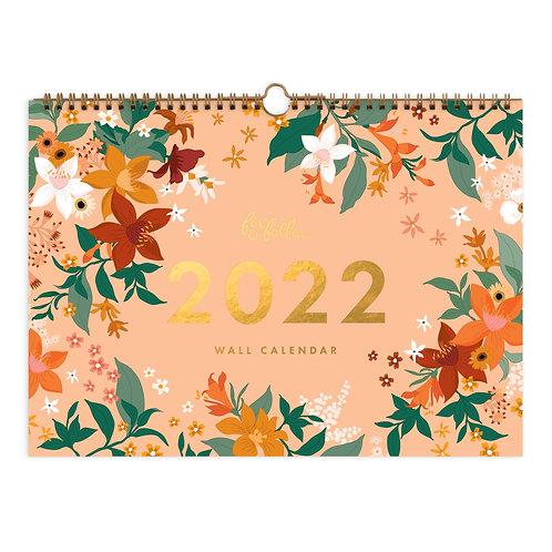 2022 Bohemia Wall Calendar