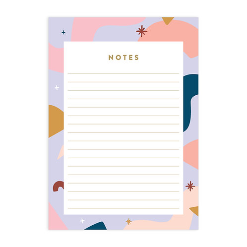 Abstract A5 Notepad