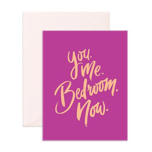You Me Greeting Card