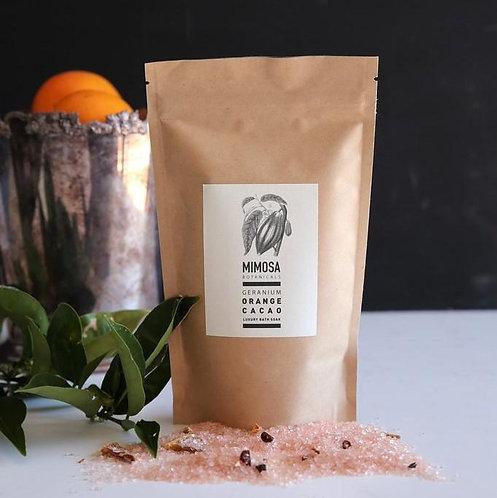 Mimosa Botanicals - Geranium, Orange & Cacao Bath Soak