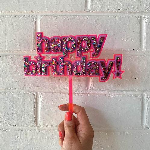 Happy Birthday! Topper