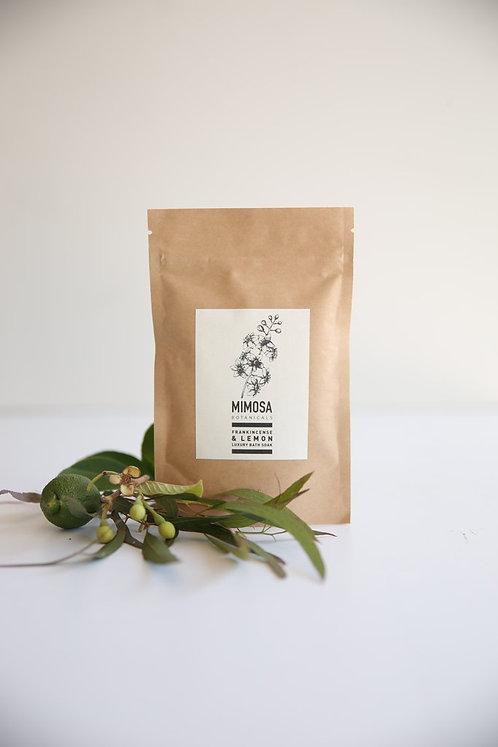 Mimosa Botanicals - Frankincense & Lemon Bath Soak
