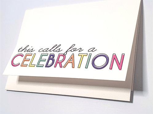 Calls for a Celebration