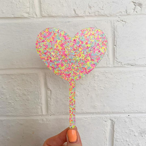 Heart Topper