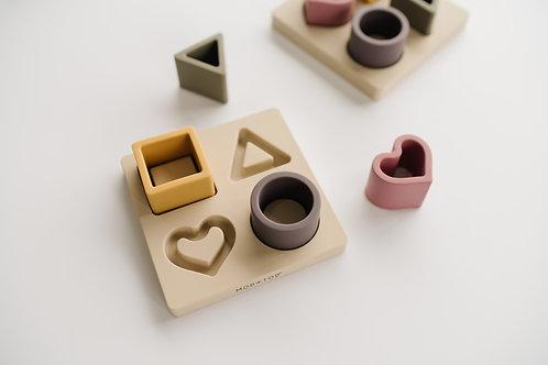 Silicone Shape Puzzle