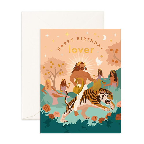 Birthday Lover Apollo Greeting Card