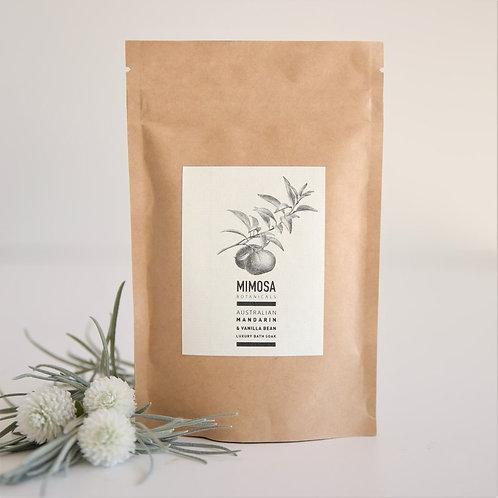 Mimosa Botanicals - Australian Mandarin & Vanilla Bean Bath Soak
