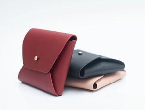 Apple Leather Purse