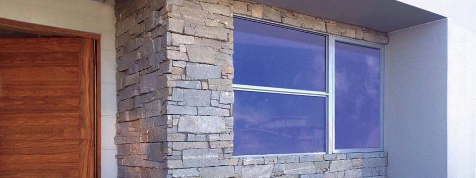 Tiling external walls