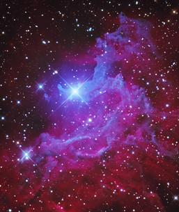 The Flaming Star Nebula - IC405