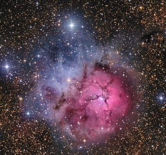 M20 The Trifid Nebula