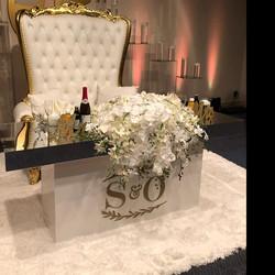 Extravagant affairs Sweetheart Table Dec