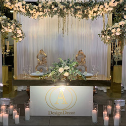 Extravagant Affairs Sweetheart Table