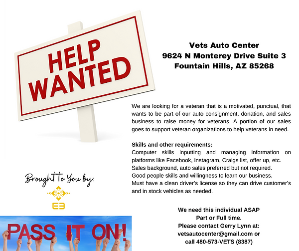 Vets Auto Center 9624 N Monterey Drive S