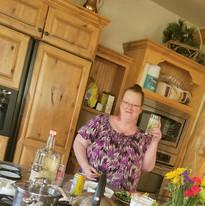 Terri Has a Tasty Beverage!