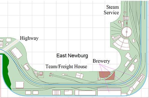 N scale track plan
