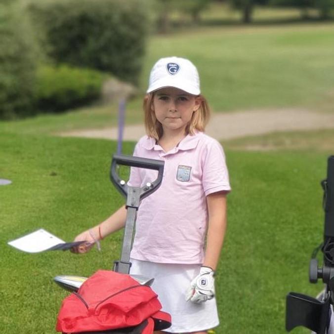 Championne du Born For Golf Tour (U8)