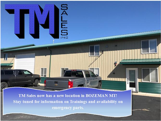 TM Sales Opening Montana Location