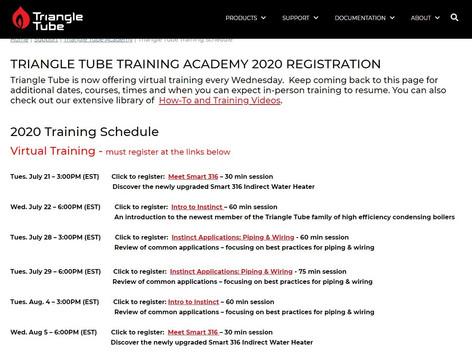 Triangle Tube Academy