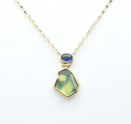 'Sapphire beauty' necklace