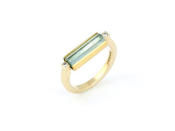 'Pompeii Aqua' ring