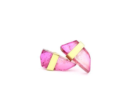 Pompeii Pink earrings