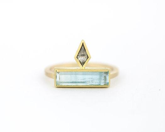 'Cleopatra Aqua' ring