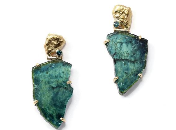 Ocean earring