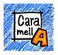 caramella logo maquette 40x 40 mm avec f