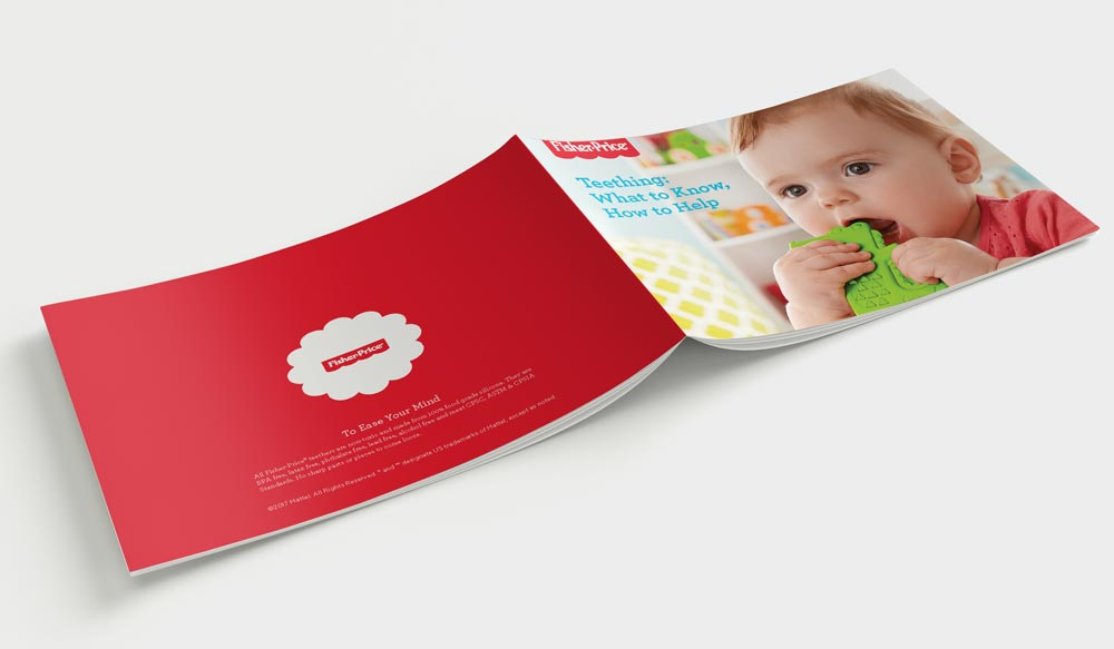 Fisher-Price Euro Teething Brochure