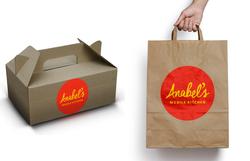 Anabel's Mobile Kitchen Logo Design