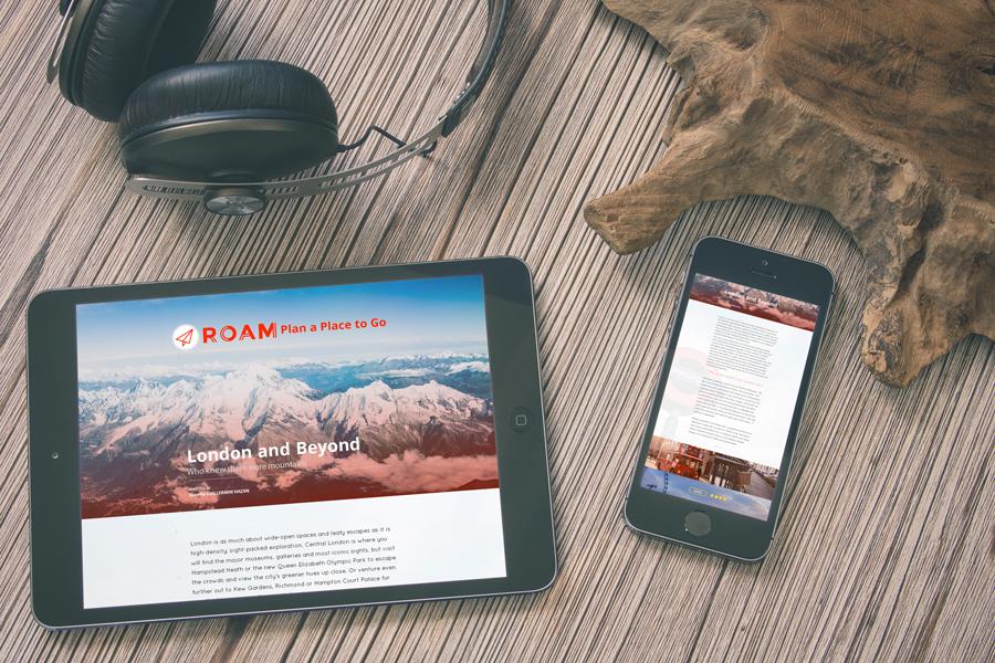 ROAM Web Blog