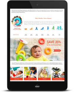 """Toys """"R"""" Us European Site Redesign"""