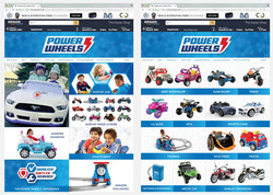 Power Wheels Amazon Page Design