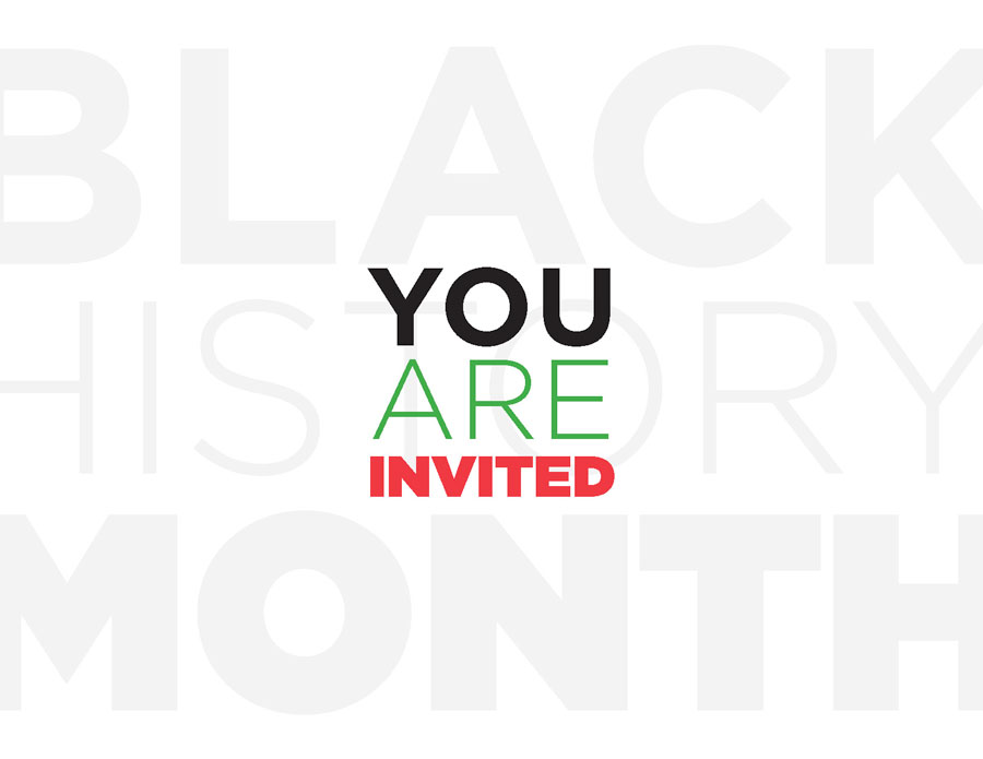Black History Month Event Design