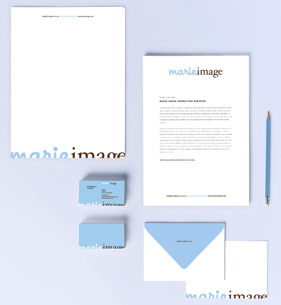 MarieImage Identity Design