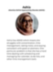 Google Hackathon Persona Ashia