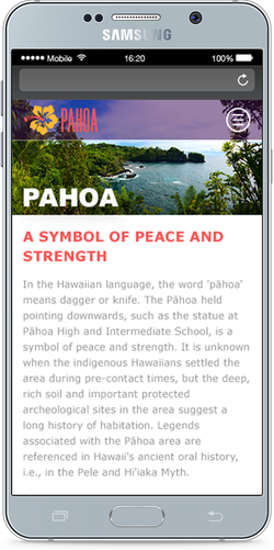 Pahoa Town Visitors' Website