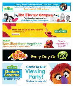Sesame Workshop Banners