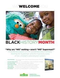 Black History Month Event Desig