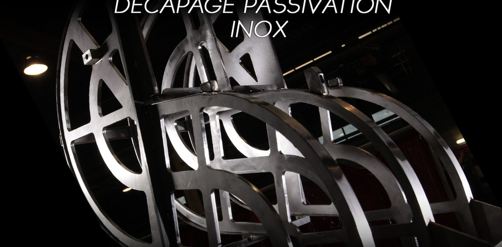 DECAPAGE PASSIVATION INOX