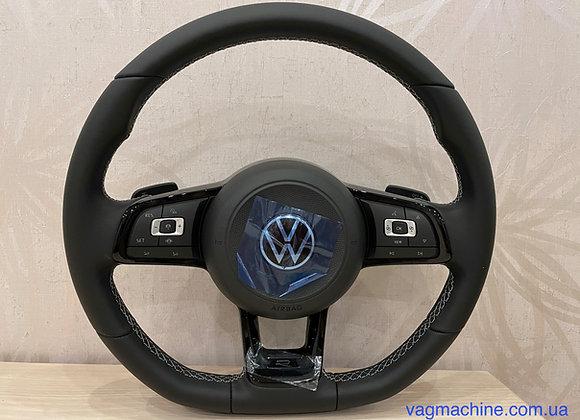 Руль от R-серии 2021 мод. года для VW Golf 7/ Passat B8/ Tiguan 5NA/ Arteon.