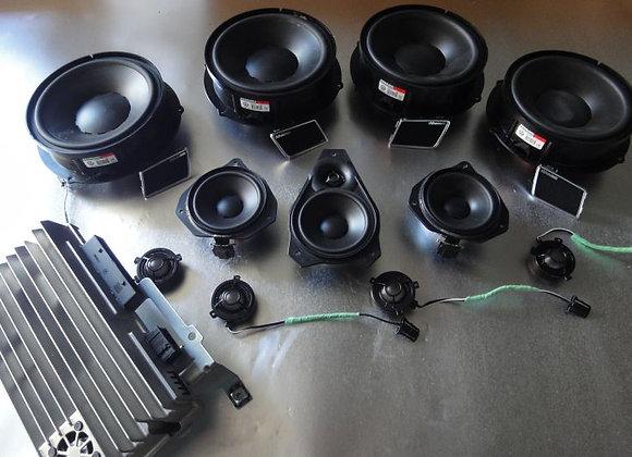 Комплект саунд-системы Dynaudio Exite для VW Touareg NF.