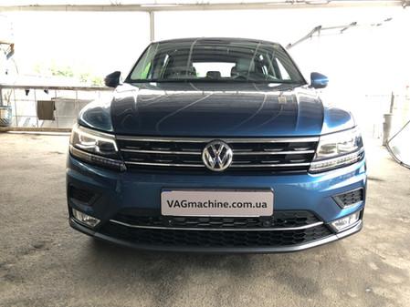 Апгрейд VW Tiguan Allspace 2.0TSI 2018 USA.