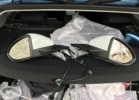 Комплект полных боковых зеркал для VW Golf 7.