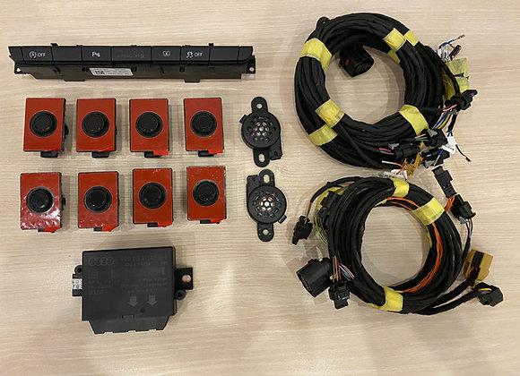 Комплект парковочного ассистента на 8 датчиков для Audi A6 C7 FL 2015-2018г.