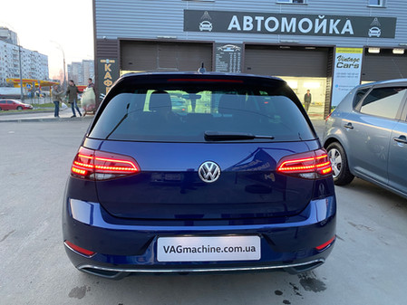 Установка Lane Assist, Light Assist, TSR, PLA3.0, Blind Spot/ RTA и подогрева руля. VW E-Golf 2018.